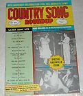 CHARLTON COUNTRY SONG ROUNDUP MAGAZINE MINNIE PEARL HANK WILLIAMS JR