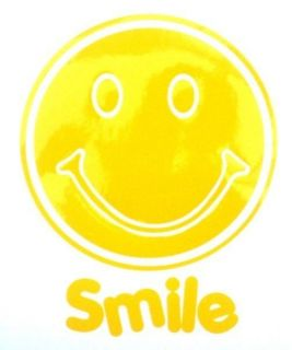 SMILE Smiley Face Sticker Car/Bike/Wall/ Window/Mirror