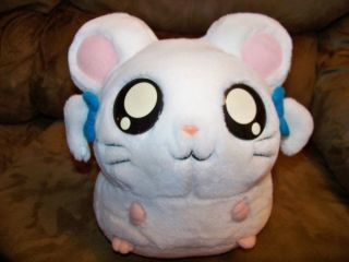 RARE Plush 10 Hamtaro Bijou Ham Ham Hamster Cartoon Character 2002