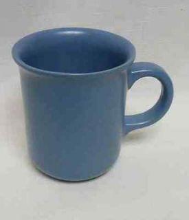 DANSK BLUE SKY MESA POTTERY   4 LARGE HANDLE COFFEE CUPS MUGS