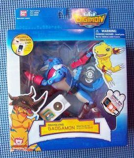 Toei Animation Digimon Data Squad Digivolving Gaogamon to