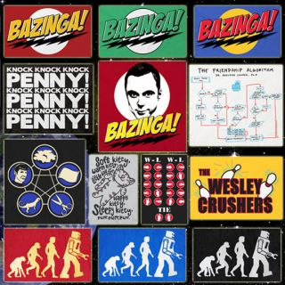 CHOOSE from Official The Big Bang Theory T shirts Sheldons Tees