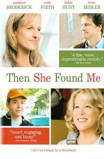 Then She Found Me (DVD, 2008) Great Condition Helen Hunt /Bette Midler