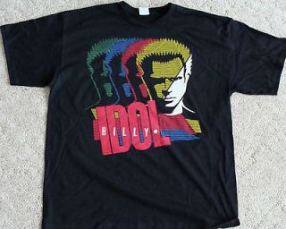 Billy Idol T SHIRT sold on tour Large