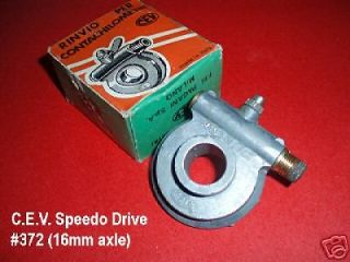 ) Speedo Drive Fantic Ducati Benelli Broncco Vintage Mini Bike Moped