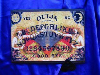 Bizarre Magick Sirens Ouija Board & Planchett Occult Halloween seance