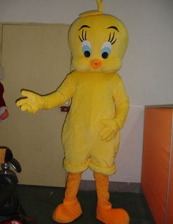 Tweety Bird Mascot Costume Outfit Suit Fancy Dress SKU 1029778813 1
