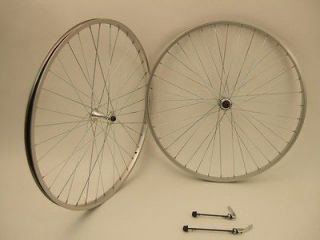 NEW 27 ROAD BICYCLE BIKE WHEELS ALUMINUM THREAD ON HUB