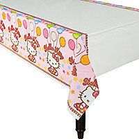 Hello Kitty Birthday Party Plastic Table Cover Decoration Party