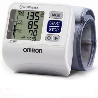 Omron 3 Series Wrist Blood Pressure Monitor 60 Memory Storage BP629