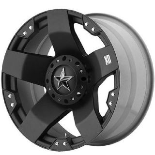 18X9 XD Rockstar Matte Black Wheels 5X5.0/135 Jeep JK / Old F 150