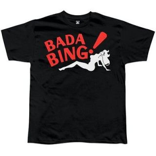 Funny Men Women shirt T Shirt Bada Bing the sopranos Mafia stripper