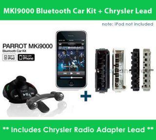 Parrot MKi9000 Music Bluetooth Car Kit + Chrysler SOT 068