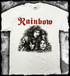 Rainbow   Long Live Rock & Roll dio t shirt   Official   FAST SHIP