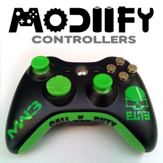 Modiify Custom Xbox 360 Wireless Controller (COD Call of Duty MW3