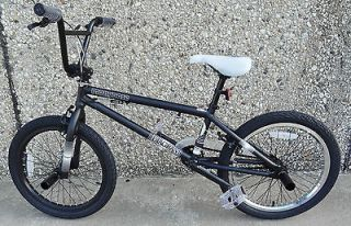 Mongoose Pro Diagram 20 inch Park Street Trail Bike 2011 Matte Black