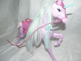UNICORN HORSE FOR CARRIAGE OR MONSTER HIGH OOAK BLOODGOOD FAIRYTALE