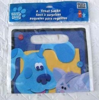BLUES CLUES Party Supplies BAGS Favor Birthday Dog Decoration Treats