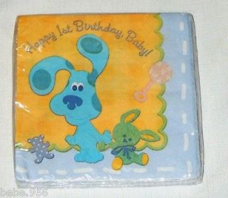 blues clues 1st birthday party