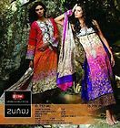COTTON SALWAR KAMEEZ BLOK BATIK PURPLE BEIGE ANY SIZE