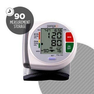 Digital Wrist Blood Pressure Monitor Machine Convenient Home Use