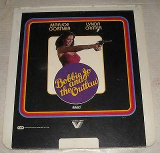 1975 BOBBIE JO AND THE OUTLAW VIDEODISC LYNDA CARTER
