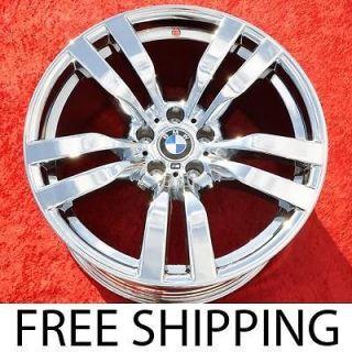 Set of 4 New Chrome 20 BMW X5 X6 X5M X6M OEM Factory Wheels RIms