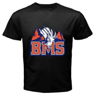 Blue Mountain State *BMS Football Team The Goats Logo Black T Shirt