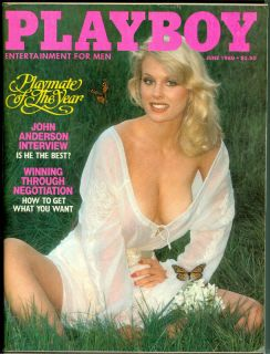 Playboy June 1980 DOROTHY STRATTEN, PMOY   Thriller video   OLA RAY