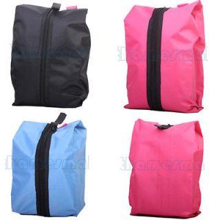 Outdoor Travel Multi purpose Waterproof Nylon Storage Shoe Zipper Bag