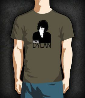 Bob Dylan Face T Shirt   New   Direct from Manufacturer