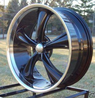 JD Wheels 20x8.5 Boss 338 BLACK Mustang Wheel