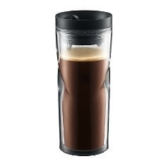 BODUM Travel Mug, 0.45l/15oz, with Black Lid (11042 01)