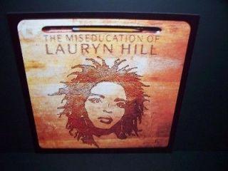 LAURYN HILL MISEDUCATION PROMO ALBUM POSTER FLAT RARE