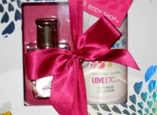 The Body Shop LOVE ETC Eau de Parfum & Body Wash Gift Set FREE