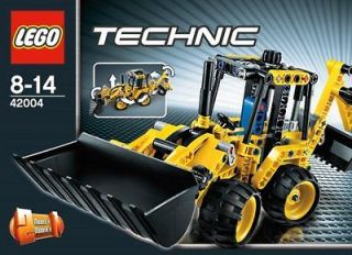 LEGO Technic 42004: Mini Backhoe Loader