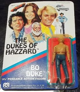 The Dukes Of Hazzard 3 3/4 Bo Duke Action Figure MOC Mego