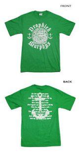 Dropkick Murphys   Irish Rover T Shirt