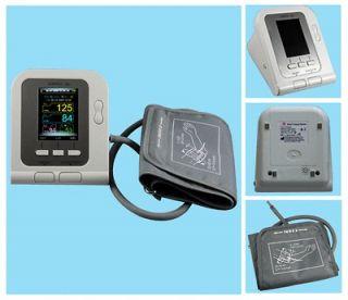 New,Digital Blood Pressure Monitor,Free SW,Adult Cuff,USB Port,Color