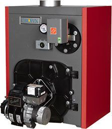 "TOBAGO"" TWZ 100WC OIL FIRED HOT WATER BOILER   FURNACE WITH COIL"