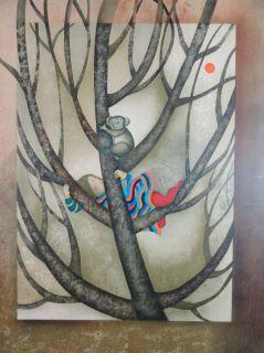 Rodo Boulanger  Un Koala Pour Sandra  Original Lithograph Artwork