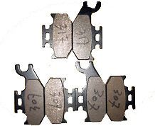 2004 04 BOMBARDIER Outlander 400 Front Rear brake pads