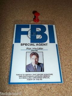 BONES Seeley Booth PVC ID Card Badge Special Agent Identification Made