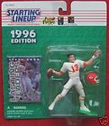 1996 Starting Lineup Steve Bono Chiefs Card