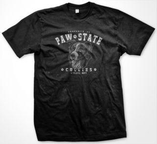 Paw State Border Collies Dog Pet Animal Men T shirt