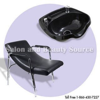 Shampoo Bowl Sink & Chair Package Salon Spa Equipment