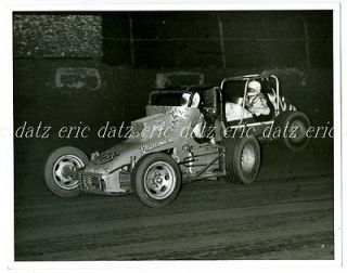 ~USAC/CRA Sprint Car, dirt track racing, 8x10, Tony Simon, D.Dockery