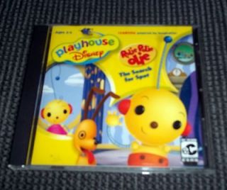 Disney Rolie Polie Olie The Search for Spot Computer Game CD Rom