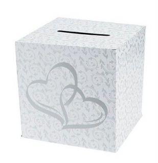 Two Hearts Wedding Card Money Box Beautiful Reception Addition!!