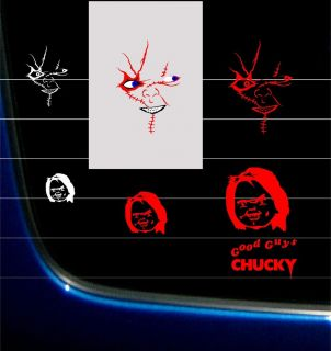 CHUCKY CHILDS PLAY GOOD GUYS VINYLGRAPHIC DECAL STICKER